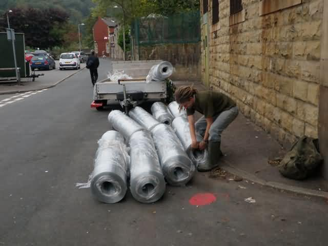 fencing material delivery