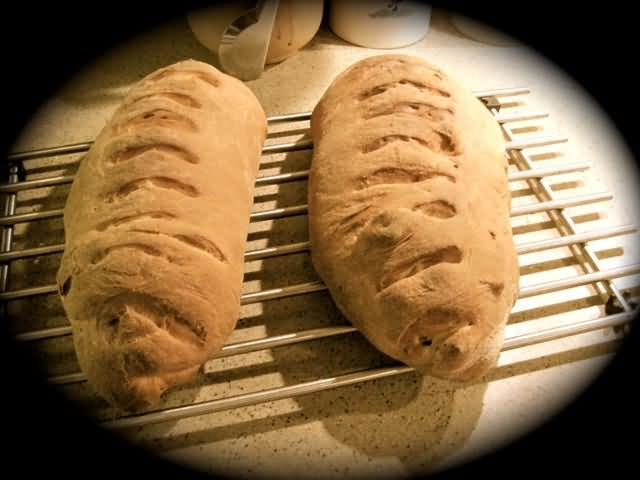 Potato Bread Just From the Oven