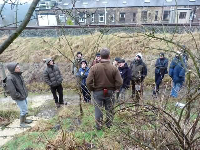 Colder and colder at Ferney Lee on the pruning course