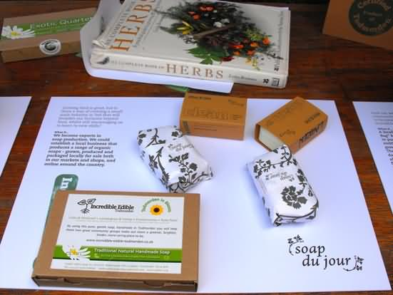 Todmorden Soap from incredible herbs