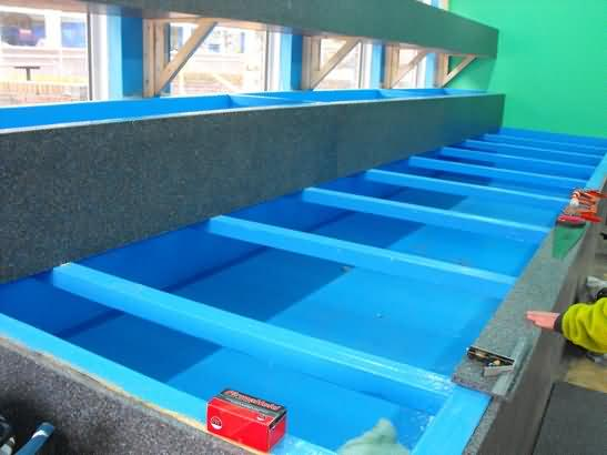 plastic that will help keep a constant temperature in the tanks