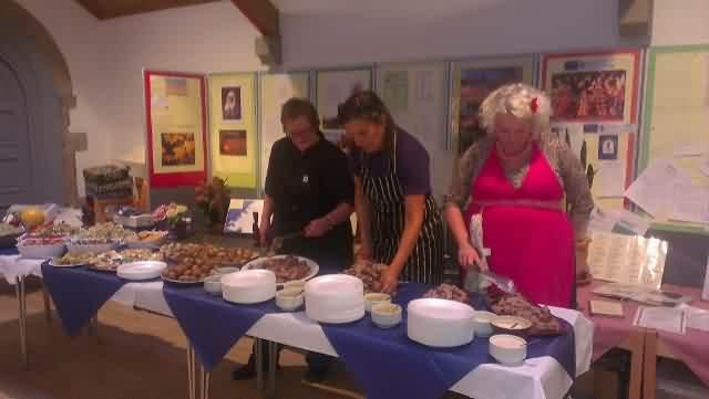 St Mary's local food dinner 9