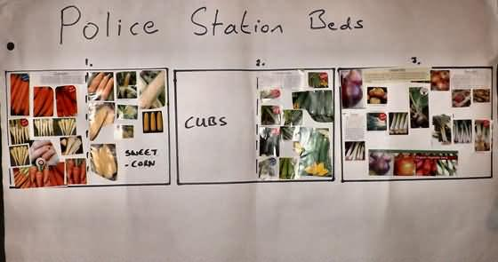 growing plan for the police station