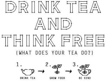 drink tea and think free