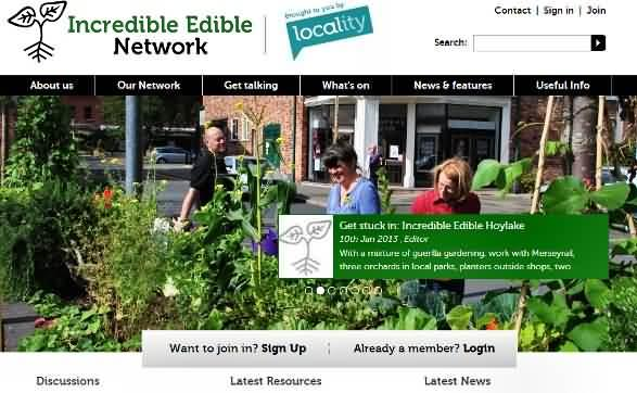 Click here for the Incredible Edible Network