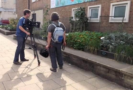 BBC filming college beds
