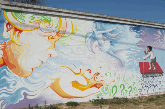 the incredible magic of community art Argentina