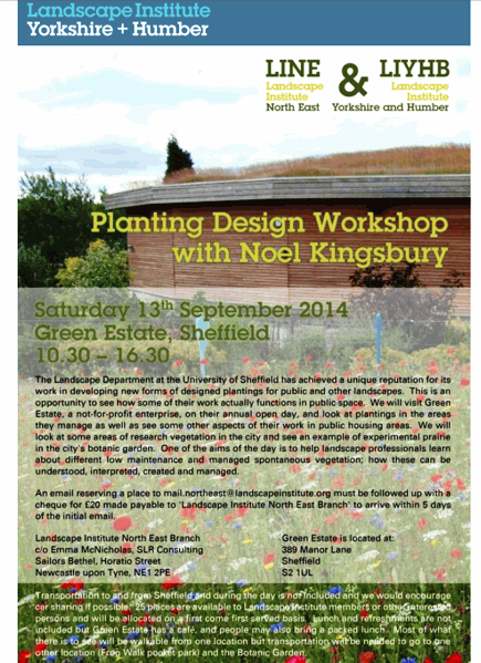 Planting Design Workshop with Noel Kingsbury
