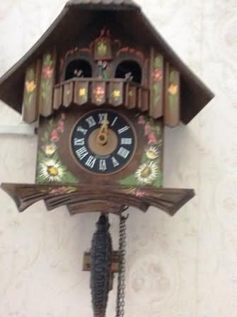 Real German cuckoo clock