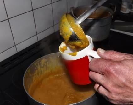 hot soup for the workers