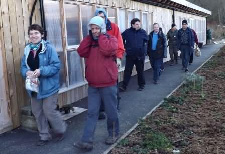 home go the workers, home from the hill
