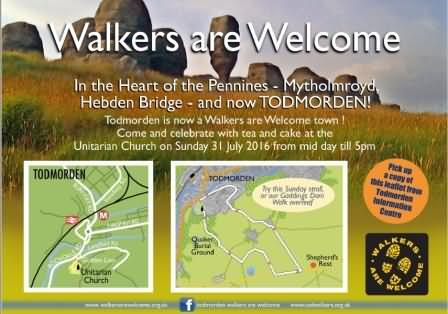 Todmorden walkers are welcome event