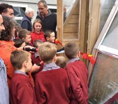 Mary cuts ribbon at St. Patrick's  Boys' National School Skibbereen