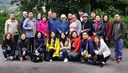 Incredible Chinese and Italian visitors