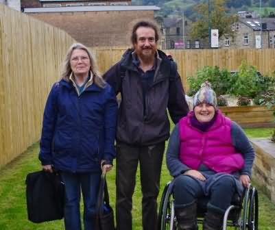 Grace from Walsden (left) joined our tour