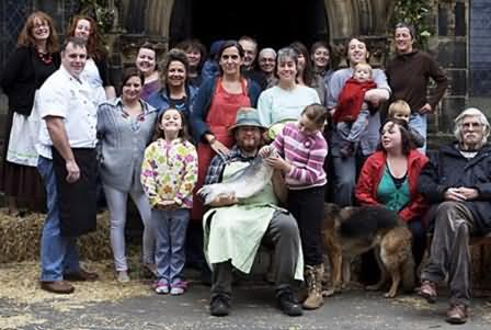 the crazy bunch that started Incredible edible