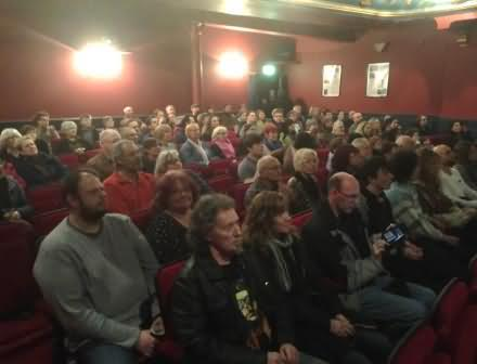 More than 100 people attended the Todmorden film premier of Tomorrow