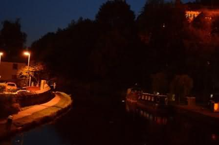 the canal by night
