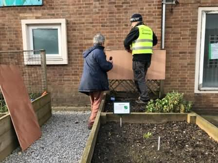 fixing notice boards